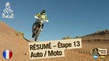 Résumé de l'étape 13 - Auto/Moto - (Villa Carlos Paz / Rosario)