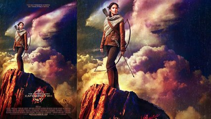 The Hunger Games: Catching Fire - New Movie Poster (2013) - Jennifer Lawrence Movie HD