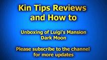 Unboxing Luigi Luigis Mansion Dark Moon Nintendo 3DS eshop Boo Shy poltergust 5000 Eversh