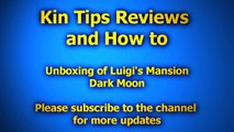 Unboxing Luigi Luigis Mansion Dark Moon Nintendo 3DS eshop Boo Shy poltergust 5000 Eversh
