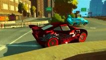 Iron man MIKI MAUS Vampire Lightning McQueen Dinoco King 43 Disney cars Street Drifting Tr