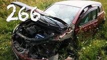 Compilación de Coche de los incidentes y Accidentes en la dashcam #266
