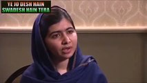 Malala said In Pakistani school Children has taught as India is our enemy and China is Friend