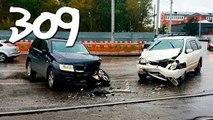 ► Compilación de Coche de los incidentes y Accidentes en la dashcam #309