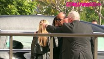 Stevie Wonder Attends Natalie Coles Funeral In Los Angeles 1.11.16 - TheHollywoodFix.com