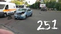 Compilación de Coche de los incidentes y Accidentes en la dashcam #251