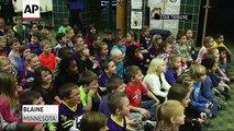 Vikings Blair Walsh Thanks Kids for Letters