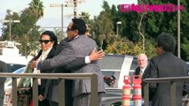 Smokey Robinson Arrives To Natalie Coles Funeral In Los Angeles 1.11.16 - TheHollywoodFix