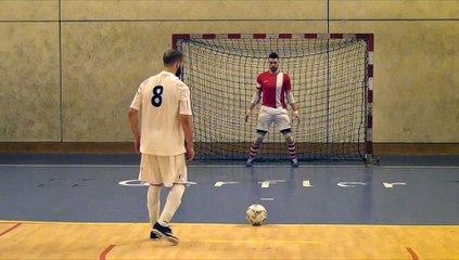 Finale régionale de Futsal 2016 - Séance de TAB contre L'Ouverture