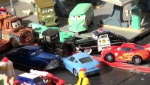 Cars 1 Radiator Springs Race Track and Train Table Wooden Disney Cars Cars Land McQueen