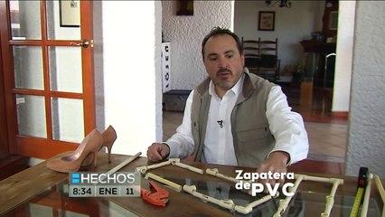 Hechos a mano  Cómo hacer una zapatera de pvc