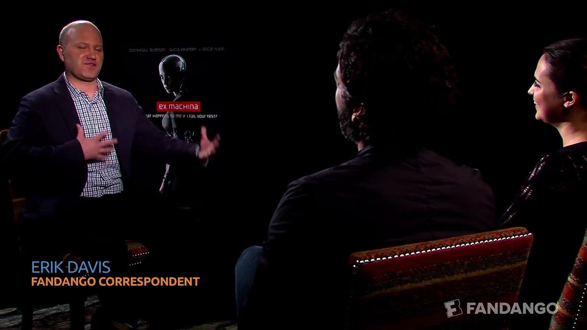 Ex Machina Interview HD | Celebrity Interviews | FandangoMovies