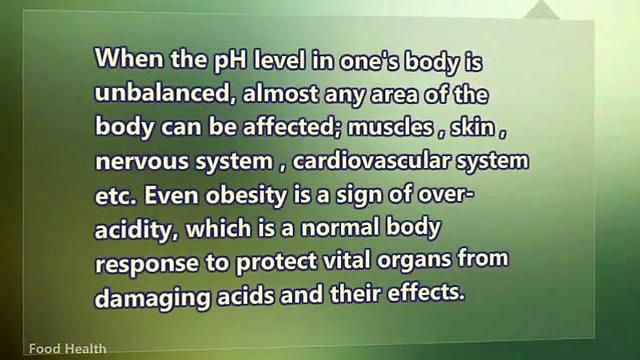Health Food Nutrition Alkaline Food List To Avoid Obesity