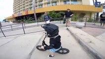 2 year old strider bike rider, future motocross star