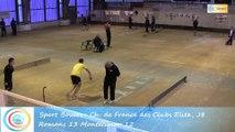 Troisième tour, tir progressif, Club Elite Masculin J8, Romans vs Montélimar, Sport-Boules, saison 2015-2016