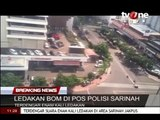 Coordinated terror attacks in Jakarta, capital of Indonesia - scene of the events Credit TVONE, ME