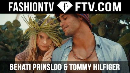 Behati Prinsloo & Tommy Hilfiger SS16 | FTV.com