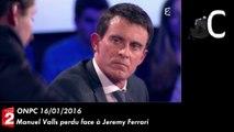 Clash : Manuel Valls perd ses moyens face au philosophe Jeremy Ferrari