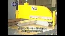 JIH 20 Tek Kafa Alüminyum Profil Kesim Makinası