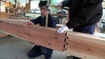 charpente traditionnelle japonaise