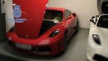 Taller de falsos Ferrari y Aston Martin