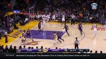 Jordan Clarkson Dunks Over Alex Len | Suns vs Lakers | January 3, 2016 | NBA 2015-16 Season
