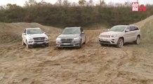 Comparativa BMW X5 ,Jeep Grand Cherokee y Mercedes ML