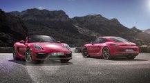 Nuevo Porsche Boxster GTS y Cayman GTS