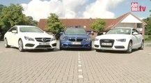 Comparativa Coupés: Audi A5, Mercedes Clase E Coupé y BMW Serie 4