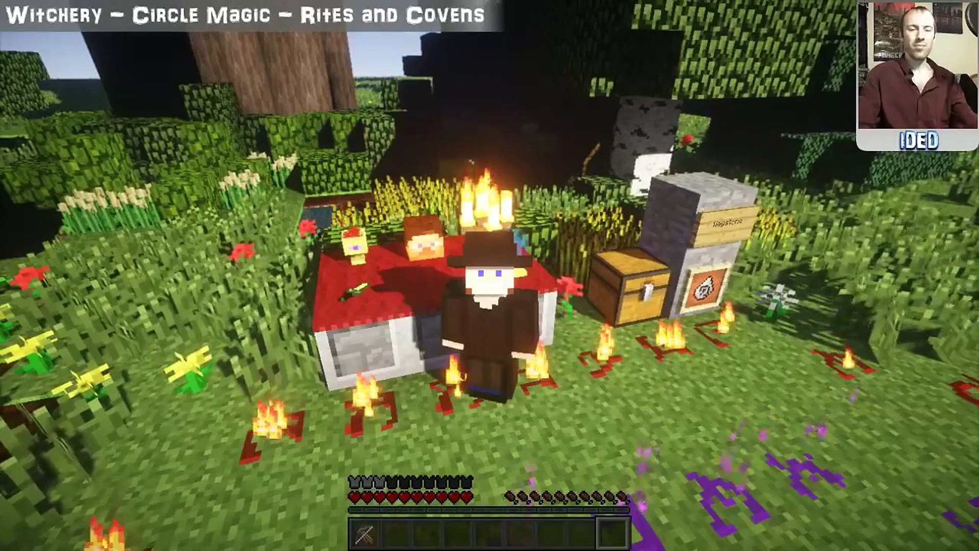 Witchery Mod Tutorial - Circle Magic Rites and Covens - Minecraft Mod