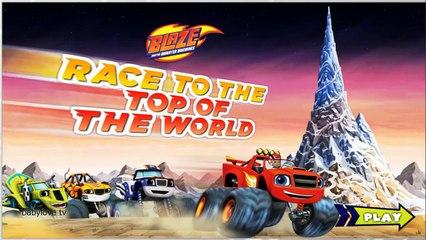Blaze: Race to the Top of the World! - Вспыш и чудо машинки