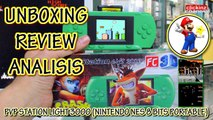 Portable NES FC PVP UNBOXING REVIEW ANALISIS Nintendo PVP Station Light 3000 NES Consola Portatil 8 Bit FAMICOM FAMICLONE Retro Duo Console Nes Clone Nes Clonica Nintendo Clone Console Consola Nintendo Clonica Handheld Pocket Game Boy Advance Micro