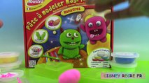 Pâte à modeler magique Joustra Monstres Ptit Monstre Play Dough Monsters ⓋⒾⒹéⓄ ⓋⒾⒹéⓄ