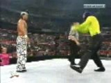 Jeff Hardy dances with Grand Masta Sexay