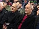Prof. Dr. Mehmet Okuyanın Prof. Dr. Abdulaziz Bayındır hocayı tebriği.
