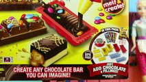 CHOCOLATE CANDY BAR MAKER Toy Marshmallows, Oreos & Sprinkles Sweet Treats Spiderman & Fro