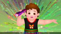 Color Songs - The PURPLE Song - Learn Colours - Preschool Colors Nursery Rhymes by 3D Kids Rhymes
