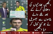 How Glenn Maxwell Did Awesome With the Prize Money After Bashing India | PNPNews.net