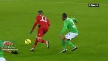 Beau geste et belle action de Ghezzal contre Saint Etienne