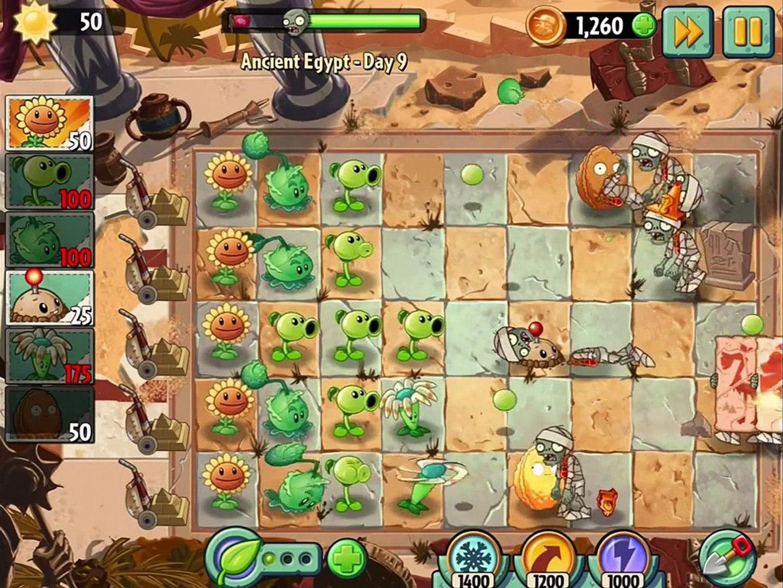 игра мультик приключеник овощи против зомби 2 игра египед часть 3 # 2