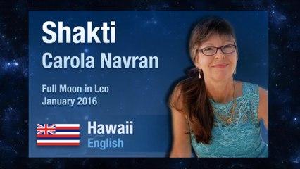 Full Moon in Leo January 2016 I Shakti Carola Navran