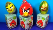 ANGRY BIRDS surprise eggs! Unboxing 6 eggs surprise with toys Angry Birds For Kids mymilli