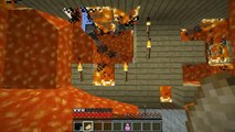 Minecraft: BURNING GAMINGWITHJENS HOUSE (LAVA INSIDE JENS HOME!) Mini-Game
