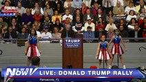 Trump possède un hymne à sa gloire. Attention, moment gênant !