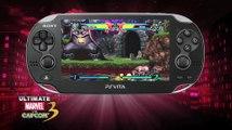 Tráiler de Ultimate Marvel vs Capcom 3 para PS Vita en HobbyNews.es