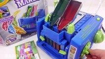 Trò chơi máy chế tạo bút chì giúp bé tạo các cây bút chì với nhiều màu độc đáo