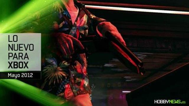 Novedades Xbox Mayo 2012 (HD) en HobbyNews.es