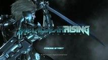 Metal Gear Rising E3 Demo Title Screen (HD) en HobbyNews.es