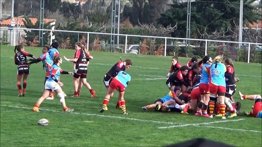 Rugby: un match de cadettes dégénère