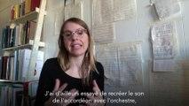 Transcription et traduction pour l'Orchestre national d'Ile-de-France